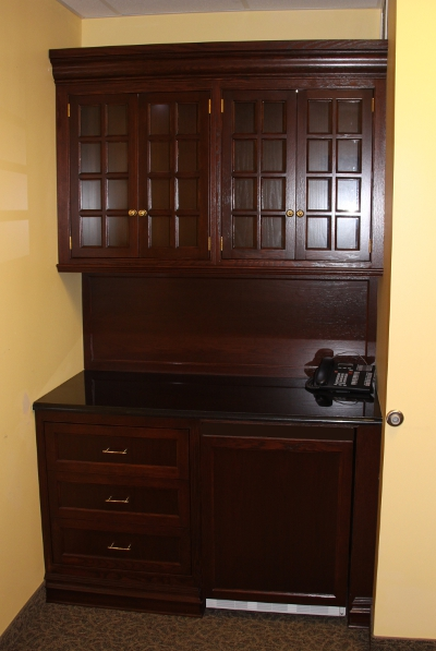Church Pastor Room Cabinets