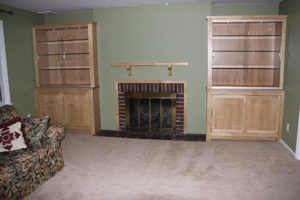 Maple Display Cabinets