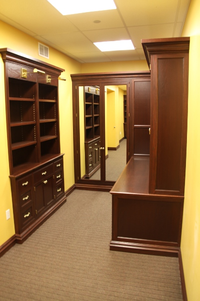 Church Pastor's Office Bookcase