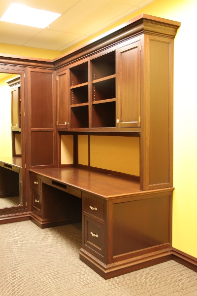 Church Pastor's Office Cabinets