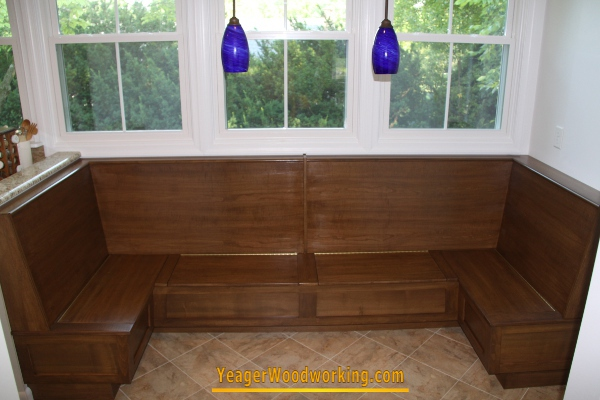 built dining bench amish made round table in ideas room tables and chairs