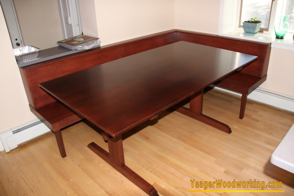 Dining Table Built In Dining Table And Bench : IMG493020Trestle20Table20and20Built in20Bench from mydiningtablehome.blogspot.com size 600 x 400 jpeg 107kB