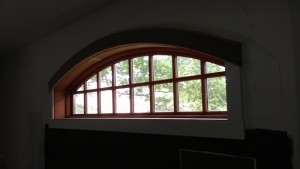 eyebrow window with casing