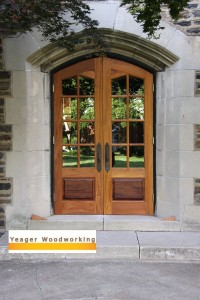 Gothic Arched Entry Doors